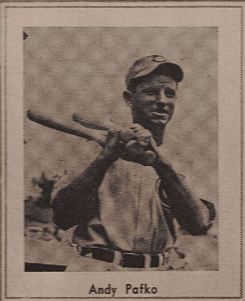 Andy Pafko 1947 Sports Exchange W602