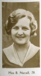 Betty Nuttall Tennis 1932 De Beukelaer