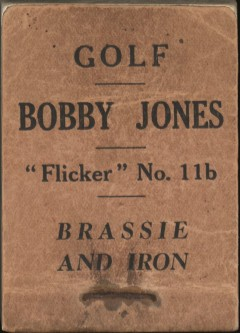 Bobby Jones Flicker Book
