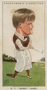 Churchman Men of the Moment Bobby Jones Golf