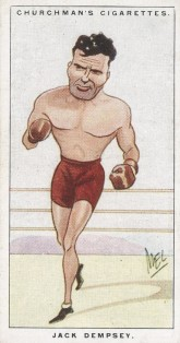 Churchman Men of the Moment Jack Dempsey Boxing