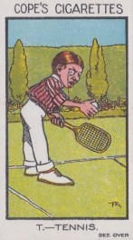 Cope's Sports and Pastimes Tennis