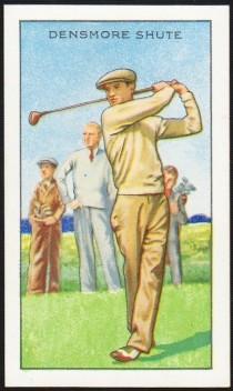 Densmore Shute 1934 Gallaher Champions Golf