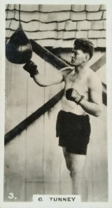 Gene Tunney 1929 Godfrey Phillips Who's Who Boxing