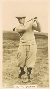 Golf Bobby Jones 1926 Lambert & Butler Who's Who in Sport