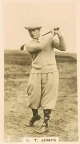 Golf Bobby Jones 1926 Lambert & Butler Who's Who in Sport