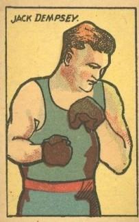 Jack Dempsey Big Head W529 Strip Card