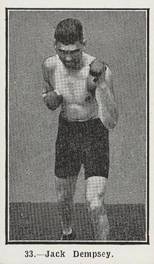Jack Dempsey Burstein Isaacs 1923 Boxing