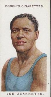 Joe Jeanette 1915 Ogden's Boxing