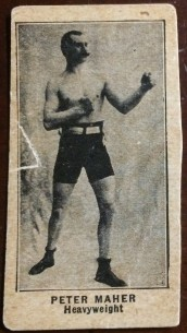 Peter Maher W580 Strip Card Boxing