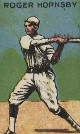 W529 Rogers Hornsby Strip Card