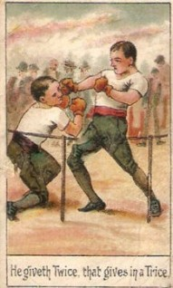 1905 Cohen Weenen Proverbs Boxing
