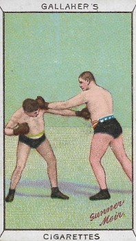 1912 Gallaher Sports Series Boxing