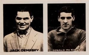 1922 Comic Life Jack Dempsey Boxing