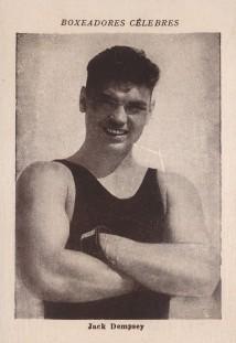 1926 Boxeadores Celebres Jack Dempsey