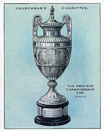1927 Churchman Sporting Trophies Golf