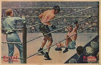1927 Erdal Kwak Dempsey Tunney Boxing