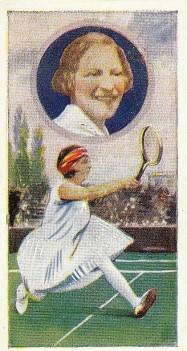 1930 J.A. Pattreiouex Celebrities Tennis