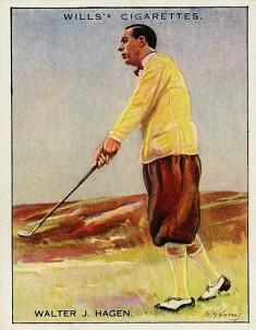 1930 Wills Famous Golfers Walter Hagen Golf.jpg