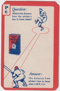 1934 Ask Me Quaker Oats Puffed Wheat Game Card Orange
