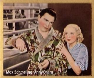 1935 Josetti Bunten Filmbilder Max Schmeling Boxing