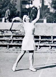 1936 Dubek Israel Sports Tennis