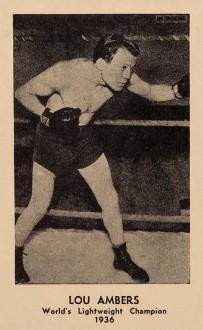 1936 La Salle Hats Boxing