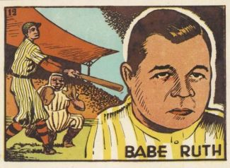 1940s Editorial Bruguera Babe Ruth
