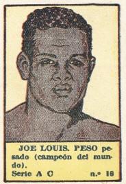 1941 Editorial Valenciana Joe Louis