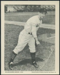 1943 Golden Quality Wilkes Barre Barons