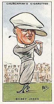 Bobby Jones 1931 Churchman Prominent Golfers
