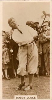 Bobby Jones J. Milhoff De Reszke Famous Golfers 1928 Golf.jpg