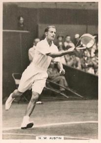 Bunny Austin Ardath Topical Photocards Tennis