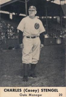 Casey Stengel 1948 Smiths Oakland Oaks