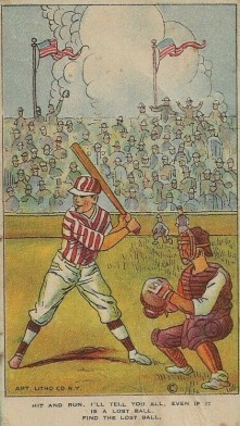 D134 Weber Colored Pictures Baseball