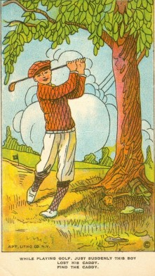 D134 Weber Colored Pictures Golf