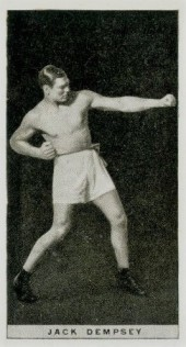 Jack Dempsey 1928 Player's Pugilists in Action Boxing