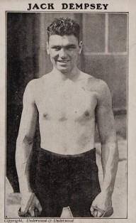 Jack Dempsey Underwood and Underwood Boxing