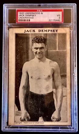 Jack Dempsey Underwood and Underwood