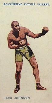 Jack Johnson 1911 Boys Friend Famous Boxers Boxing