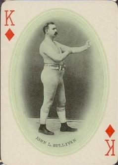 James Jeffries Playing Cards Boxing John Sullivan