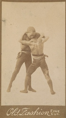 N682 N692 Old Fashion Negro Subjects Wrestling Card