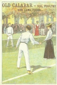 Old Calabar Tennis Trade Card