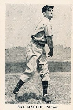 Sal Maglie 1940 Buffalo Bisons
