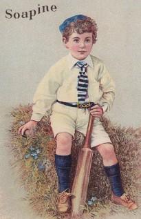 Soapine Trade Card Cricket