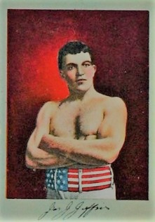 T225 James J Jeffries Boxing