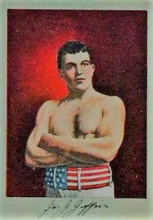 T225 James J Jeffries Boxing