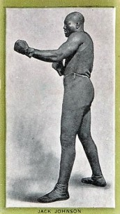 T226 Red Sun Jack Johnson Boxing