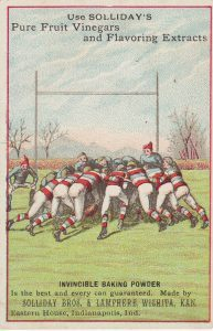 Trade Football Rugby Card