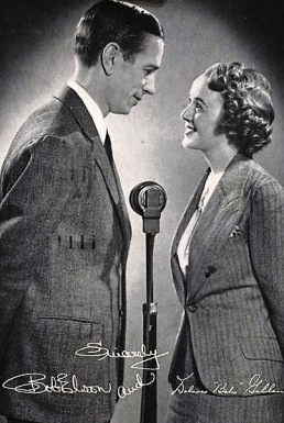 Bob Elson and Dolores Gillen